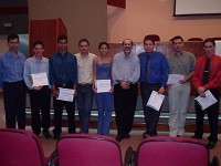 SIICUSP 2003 São Paulo - dez trabalhos apresentados e dois premiados com Menção Honrosa